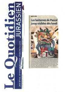 2011_Fasnacht_Titelseite_Le Quotidien Kopie