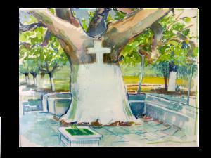 Baum_mit_Kreuz_Griechenland